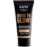 NYX Professional Makeup Born to Glow Naturally Radiant Foundation 30ml (Various Shades) - Alabaster
