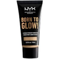 NYX Professional Makeup Born to Glow Naturally Radiant Foundation 30ml (Various Shades) - Nude