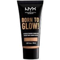 NYX Professional Makeup Born to Glow Naturally Radiant Foundation 30ml (Various Shades) - Natural