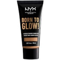 NYX Professional Makeup Born to Glow Naturally Radiant Foundation 30ml (Various Shades) - Camel