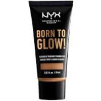 NYX Professional Makeup Born to Glow Naturally Radiant Foundation 30ml (Various Shades) - Golden Hon