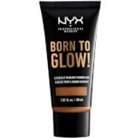 NYX Professional Makeup Born to Glow Naturally Radiant Foundation 30ml (Various Shades) - Almond