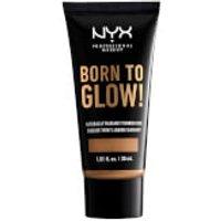NYX Professional Makeup Born to Glow Naturally Radiant Foundation 30ml (Various Shades) - Cinnamon