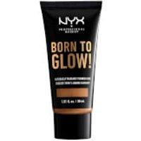 NYX Professional Makeup Born to Glow Naturally Radiant Foundation 30ml (Various Shades) - Honey