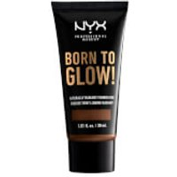 NYX Professional Makeup Born to Glow Naturally Radiant Foundation 30ml (Various Shades) - Deep Rich