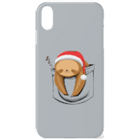 Sloth In A Pocket XmasPhone Case for iPhone and Android - iPhone 7 - Tough Case - Gloss