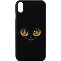 Tobias Fonseca Xmas Cat Attack Phone Case for iPhone and Android - Samsung S6 Edge - Snap Case - Mat