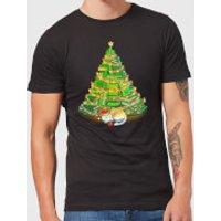 Tobias Fonseca My Favorite Xmas Tree Men's T-Shirt - Black - M - Black