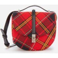 Vivienne Westwood Women's Special Sofia Mini Saddle Bag - Red/Black