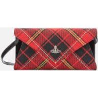 shop for Vivienne Westwood Women's Lisa Envelope Clutch - Red/Black at Shopo