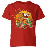 Tobias Fonseca Xmas War Kids' T-Shirt - Red - 11-12 Years - Red