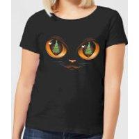 Tobias Fonseca Xmas Cat Attack Women's T-Shirt - Black - XXL - Black