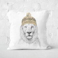 Winter Is Here Square Cushion - 60x60cm - Eco Friendly - Eco Friendly Gifts