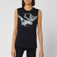 Helmut Lang Women's Sleeveless T-Shirt Eagle - Basalt Black - M