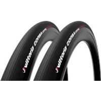Vittoria Corsa Control G2.0 Tubular Road Tyre Twin Pack - 700x30mm - Full Black