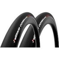 Vittoria Corsa Control G2.0 Road Tyre Twin Pack - 700x28mm - Full Black