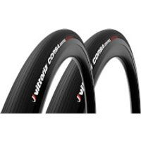 Vittoria Corsa Control G2.0 Road Tyre Twin Pack - 700x30mm - Full Black