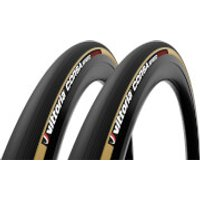 Vittoria Corsa Speed G2.0 Tubular Road Tyre Twin Pack - 700x25mm - Para/Black