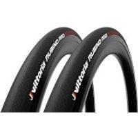 Vittoria Rubino Pro IV G2.0 Tubeless Ready Road Tyre Twin Pack - 700x28mm