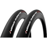 Vittoria Rubino Pro IV G2.0 Road Tyre Twin Pack - 700x23mm - Full Black