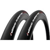 Vittoria Rubino Pro IV G2.0 Road Tyre Twin Pack - 700x30mm - Full Black