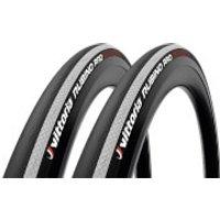 Vittoria Rubino Pro IV G2.0 Road Tyre Twin Pack - 700x25mm - Black/White