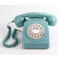 GPO 746 Rotary Phone - Mint Green - Phone Gifts