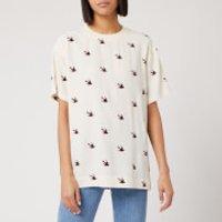 McQ Alexander McQueen Women's Umeko Seam T-Shirt - Oyster - M