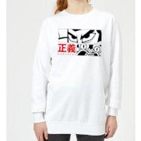 Samurai Jack Arch Nemesis Women's Sweatshirt - White - XS - White