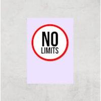 No Limits Art Print - A2 - Print Only