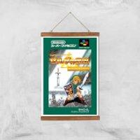 Nintendo Retro Zelda Cover Art Print - A3 - Wood Hanger