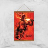 Hellboy Son Of The Fallen One Art Print - A3 - Wood Hanger - Son Gifts
