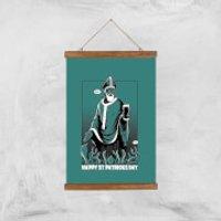 St. Patricks Day Art Print - A3 - Wood Hanger - St Patricks Day Gifts