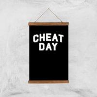 Cheat Day Art Print - A3 - Wood Hanger