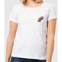 Half Rainbow Women's T-Shirt - White - S - White