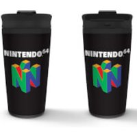 Nintendo (N64) Metal Travel Mug - Computer Games Gifts