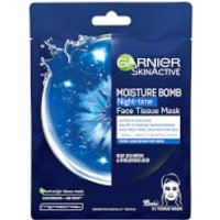 Garnier Moisture Bomb Deep Sea Water & Hyaluronic Acid Tissue Mask Night 32g