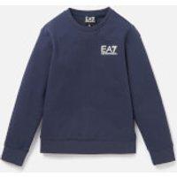 Emporio Armani EA7 Boys' Small Logo Sweatshirt - Navy - 10 Years