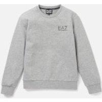 Emporio Armani EA7 Boys' Small Logo Sweatshirt - Medium Grey Melange - 4 Years