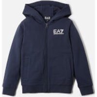 Emporio Armani EA7 Boy's Full Zip Hoody - Navy - 8 Years