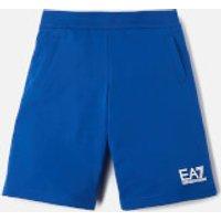 Emporio Armani EA7 Boys' Small Logo Shorts - Mazarine Blue - 8 Years