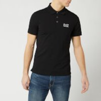Emporio Armani EA7 Men's Short Sleeve Small Logo Polo Shirt - Black - S