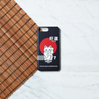 Ramen Lucky Cat Phone Case for iPhone and Android - Samsung Note 8 - Snap Case - Matte