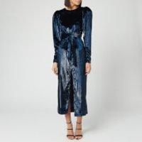 ROTATE Birger Christensen Women's Barbara Maxi Dress - Twilight Blue - DK 34/UK 8