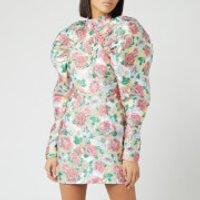 ROTATE Birger Christensen Women's Kim Jacquard Mini Dress - Morning Glory - DK 38/UK 12