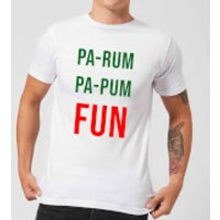 Pa-Rum Pa-Pum Fun Men's T-Shirt - White - XXL - White - Fun Gifts