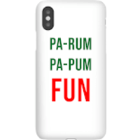Pa-Rum Pa-Pum Fun Phone Case for iPhone and Android - Samsung Note 8 - Snap Case - Matte - Fun Gifts