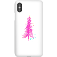Pink Christmas Tree Phone Case for iPhone and Android - Samsung S7 Edge - Snap Case - Matte