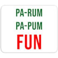 Pa-Rum Pa-Pum Fun Mouse Mat - Fun Gifts