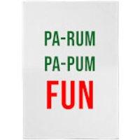 Pa-Rum Pa-Pum Fun Cotton Tea Towel - Fun Gifts